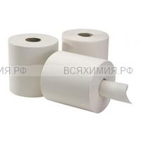 Полотенца бумажные в рулоне Kontiss односл. 275 метров белые с центр вытяжкой *6