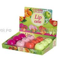 LavelleCollection бальзам для губ увлажняющий MIX (апельсин, яблоко, клубника, персик) *12