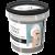 Чёрная глина Косметическая с углём Антиугревая для лица и тела 155мл 6*12