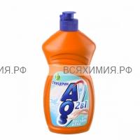 АОС Ср-во для мытья посуды 450мл. ГЛИЦЕРИН 10*20* /160/1280/