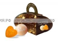 Набор Звездный Дождь (мыло глицериновое 80 гр + бурлящий шар 110гр) *6*12