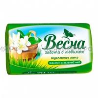 Мыло туалетное Весна Жасмин и Зеленый чай 90 гр *72