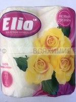 Туалетная бумага ELIO 2-х сл. желтая (12)