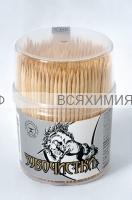 Зубочистки деревянные  500 шт *6*144