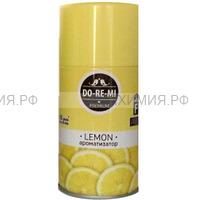 Освежитель До-ре-ми Премиум Лимон 250мл (сменный блок) 3*12*