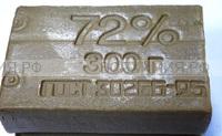 Мыло Хозяйственное ГОСТ 72% 300гр. (черное) *40