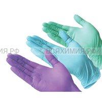 Перчатки нитриловые  М 100 шт.  (10)
