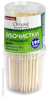 Зубочистки 190 шт OPTILINE 10*280
