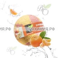 Bliss Organic Шар для ванны бурлящий Мандарин 130 гр *6*60*