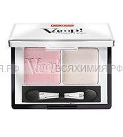 ПУПА Компактные двойные тени VAMP 001 розовый жемчужный