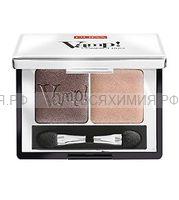 ПУПА Компактные двойные тени VAMP 004 бронзовый янтарный