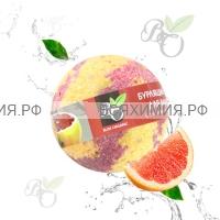 Bliss Organic Шар для ванны бурлящий Грейпфрут 130 гр *6*60*