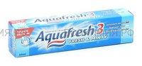 Зубная паста Аквафреш Тотал Кэа 3 освежающая- мятная 50 мл. (СИНЯЯ) *12*