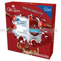 Набор Олд Спайс (Дезодорант-Спрей Блокатор запаха 125мл + Хед&Шолдерс Основной уход 200мл) *6