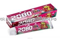 Керасис зубная паста 2080 ДЕТСКАЯ Клубника 80 гр *3*36