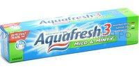 Зубная паста Аквафреш Тотал Кэа 3 мягко-мятная 100 мл. (ЗЕЛЕНАЯ) *12*24