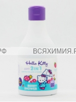 Hello Kitty Шампунь Гель Berry Shower с экстрактом клубники 250 мл *3*24
