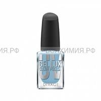 Divage Лак Для Ногтей Uv Gel Lux 10 голубой перламутровый