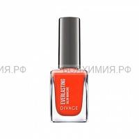 Divage Лак для ногтей 'Everlasting' Гелевый Товар 11 морковный сок