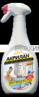 БАГИ Акрилан-спрей Для акриловых ванной, душевых кабин и бассейнов 400 мл *6*12