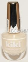 КИКИ Лак для ногтей SILVER с протеином 303 бежевый перламутр