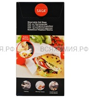 SAGA Бумажные Пищевые ПАКЕТЫ для завтраков Универсальные (1500шт) *1