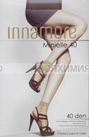 Иннаморе носки Minielle 40 nero Lycra (по 2-е пары)