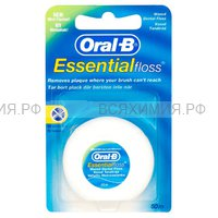 ОРАЛ-БИ Зубная нить Вощеная 50 м. *6*12*144