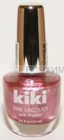 КИКИ Лак для ногтей SILVER с протеином 154 теплый розовый