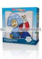 Маша и Медведь Фитосоль для ванн «Снегурочка и дед Мороз» набор Зимний *9