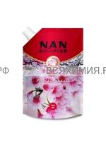 NAN концентрированный кондиционер для белья Японская сакура 800 мл **4*8