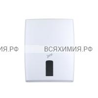 Диспенсер Protissue для листовых полотенец V, Z-сложения, белый, размер М *1 (17050)