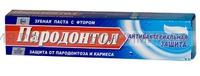 """Свобода Зубная паста """"Пародонтол"""" антибактериальная 63г *32"""