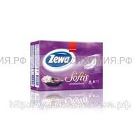 Платочки ZEWA Softis Ароматера 4-х сл. 9л.х6шт. ароматизированные *24