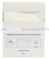 Защитное туалетное покрытие 1/4 слож. 100 листов *16