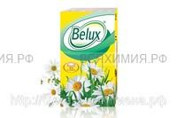 Платочки BELUX 3-х сл. белые 10 шт. *240