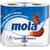 Туалетная бумага Моla 2-х сл.белая 4 шт.*10