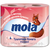 Туалетная бумага Моla 2-х сл. розовая 4шт.*10