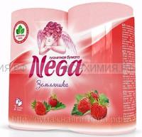Туалетная бумага Nega Aroma Земляника 2-х сл. 4 шт. розовая *12