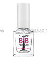 Divage Закрепитель-сушка для ногтей `gloss n`last