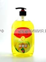 NAN Гель для посуды и детских принадлежностей Сладкий лимон 900 мл С ДОЗАТОРОМ 4*12
