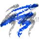КИКИ Карандаш д/глаз с аппликатором 08 темно синий