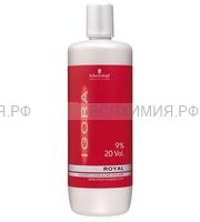 ИГОРА Рояль Лосьон-окислитель на масляной основе 9% 1000мл.