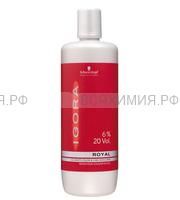 ИГОРА Рояль Лосьон-окислитель на масляной основе 6% 1000мл.