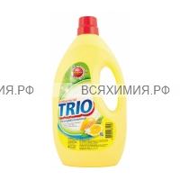 Керасис TRIO Средство для мытья посуды Антибактериальное Лимон 1000мл *1*12
