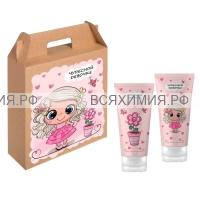 VILSEN набор Для девочек (шампунь для кудряшек 150 мл+гель-пенка 150 мл) *5*10