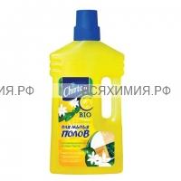 """ЧИРТОН Чистящее средство для мытья пола Чиртон """"Лимон"""" 1000мл. *6*12"""