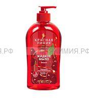 Красная Линия Жидкое мыло Вишня 520гр 6*12