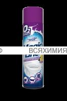 Magic Line Аэрозоль 650мл Пенный очиститель для Туалета и Керамики *3