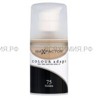 Макс Фактор тональный крем COLOUR adapt 75 Золотистый